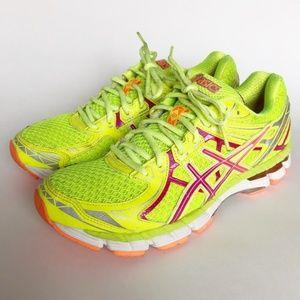Asics Gel GT 2000 Neon Yellow Running Sneaker 8